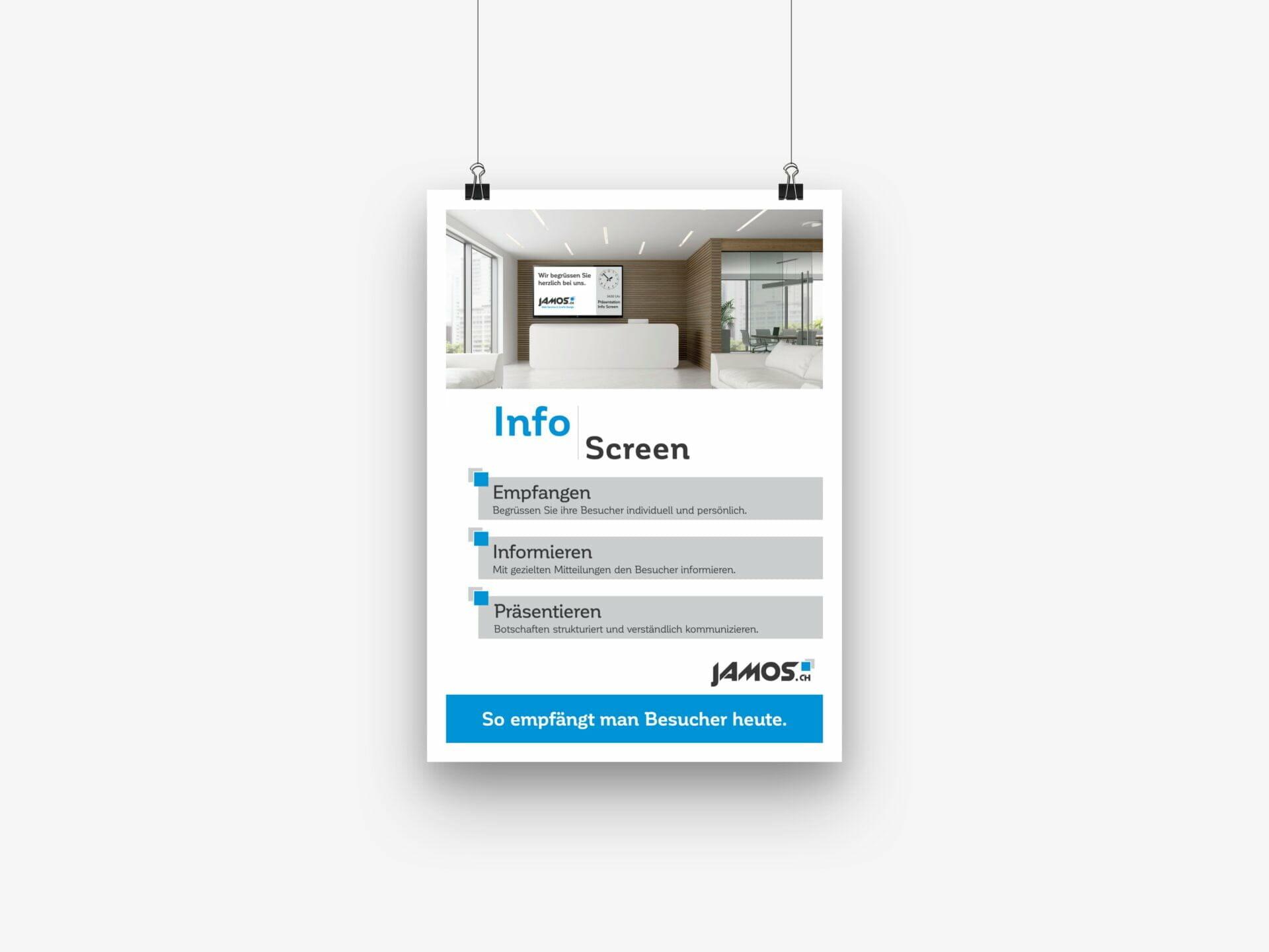 JAMOS Info Screen