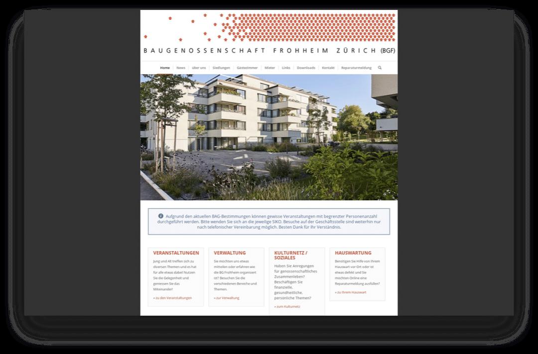 Baugenossenschaft Frohheim