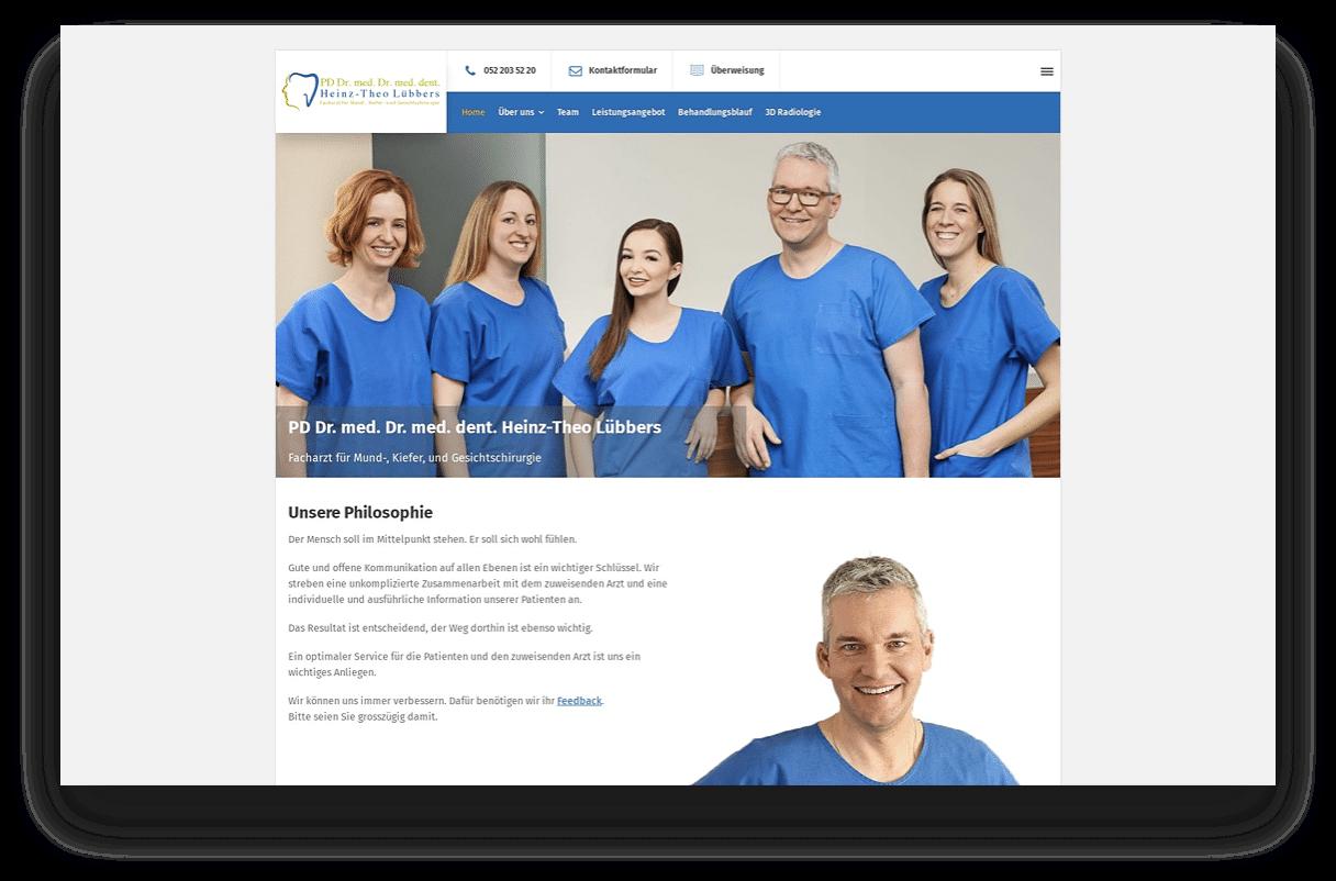 Praxis Dr. med. dent. Heinz-Theo Lübbers