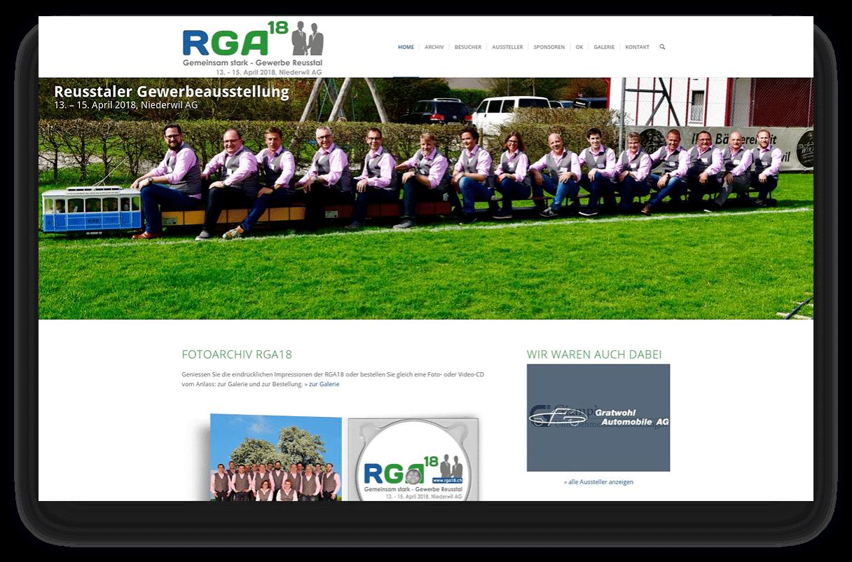 Reusstaler Gewerbeausstellung RGA18