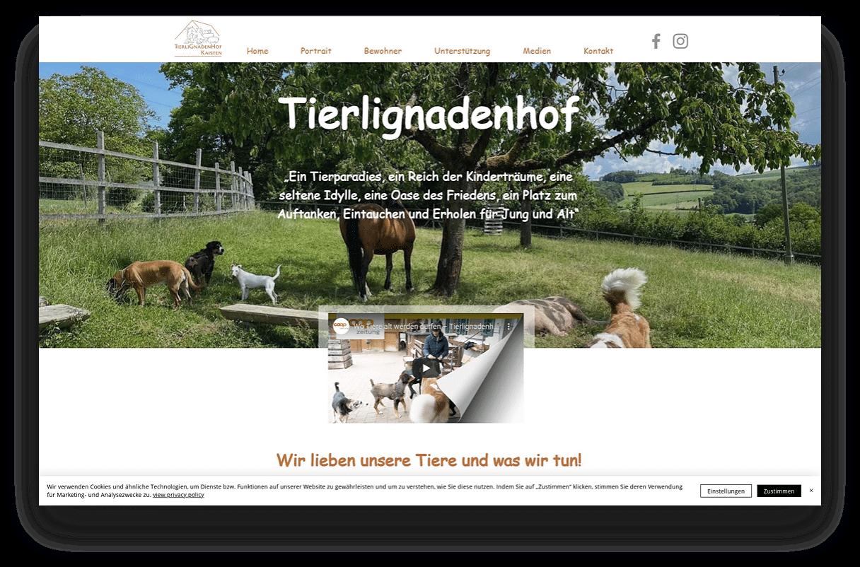 Stiftung Tierlignadenhof Kaisten