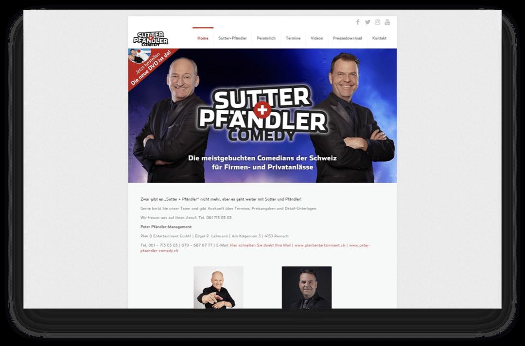Sutter + Pfändler Comedy